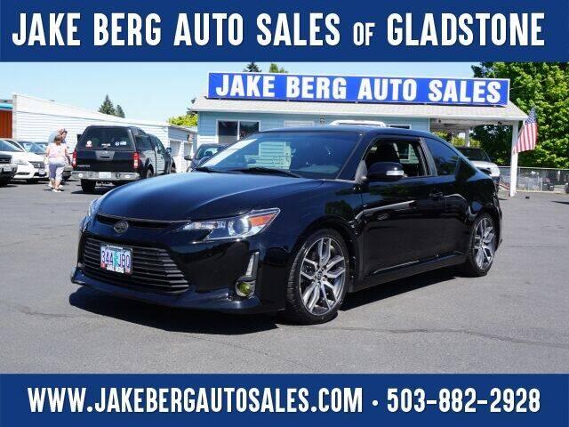 2016 Scion tC for sale at Jake Berg Auto Sales in Gladstone OR