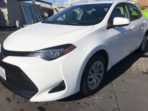 2018 Toyota Corolla for sale at AutoDistributors Inc in Fulton CA