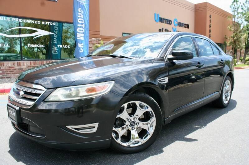 2010 Ford Taurus for sale at CK Motors in Murrieta CA
