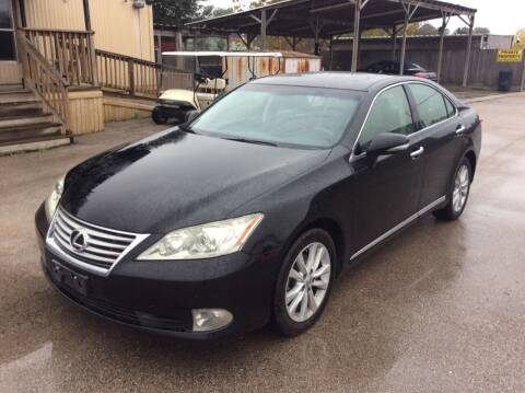 2011 Lexus ES 350 for sale at OASIS PARK & SELL in Spring TX