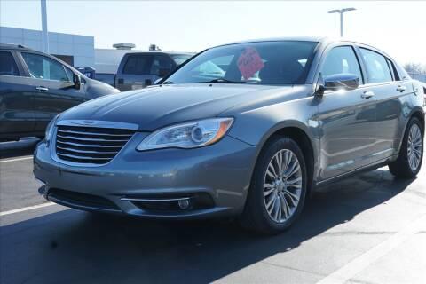 2013 Chrysler 200 for sale at GRAFF CHEVROLET BAY CITY in Bay City MI