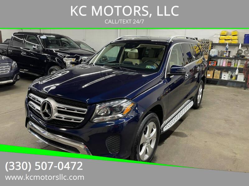 2017 Mercedes-Benz GLS for sale at KC MOTORS, LLC in Boardman OH