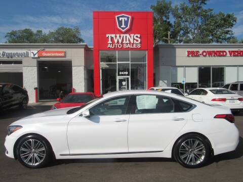 2018 Genesis G80 for sale at Twins Auto Sales Inc in Detroit MI