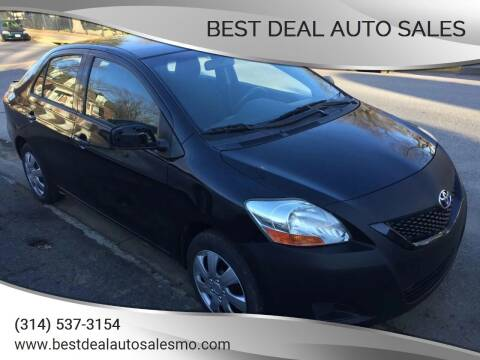 2012 Toyota Yaris for sale at Best Deal Auto Sales in Saint Charles MO