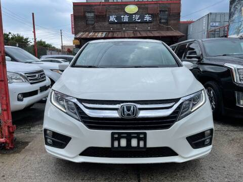 2018 Honda Odyssey for sale at TJ AUTO in Brooklyn NY