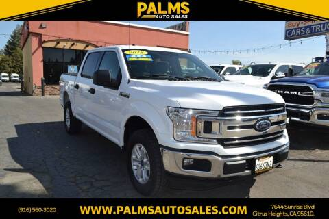 2018 Ford F-150 for sale at Palms Auto Sales in Citrus Heights CA
