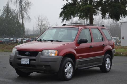 2001 Ford Escape for sale at Skyline Motors Auto Sales in Tacoma WA