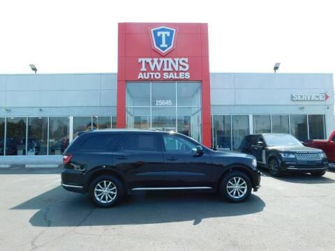 2018 Dodge Durango for sale at Twins Auto Sales Inc Redford 1 in Redford MI