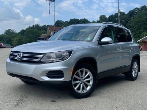 2017 Volkswagen Tiguan for sale at Elite Motors in Uniontown PA