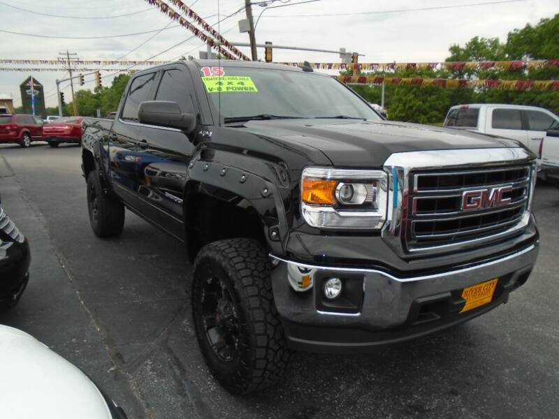 2015 GMC Sierra 1500 for sale at River City Auto Sales in Cottage Hills IL