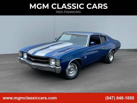 1971 Chevrolet Chevelle for sale at MGM CLASSIC CARS in Addison, IL