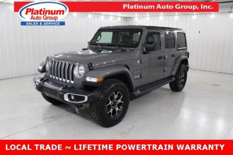 2019 Jeep Wrangler Unlimited for sale at Platinum Auto Group Inc. in Minster OH