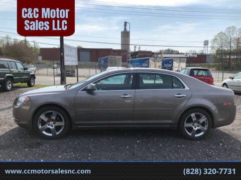 2012 Chevrolet Malibu for sale at C&C Motor Sales LLC in Hudson NC