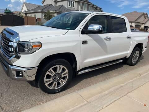 2018 Toyota Tundra for sale at ALOTTA AUTO in Rexburg ID