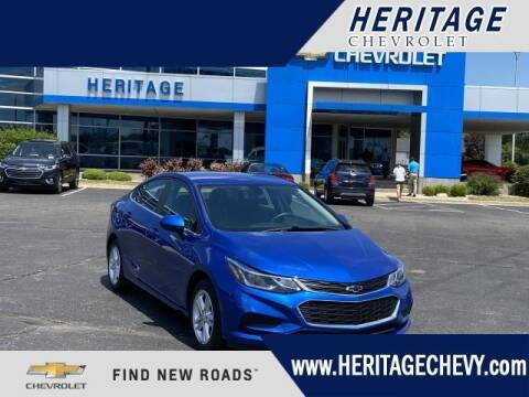 2018 Chevrolet Cruze for sale at HERITAGE CHEVROLET INC in Creek MI