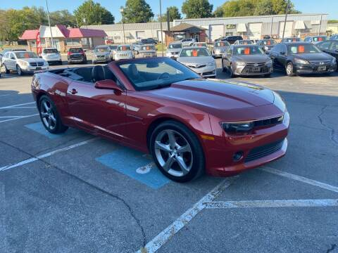 2014 Chevrolet Camaro for sale at C & S SALES in Belton MO