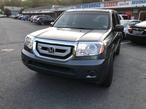 2010 Honda Pilot for sale at REGIONAL AUTO CENTER in Stafford VA
