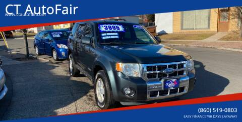 2008 Ford Escape for sale at CT AutoFair in West Hartford CT