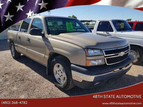 2007 Chevrolet Silverado 1500 Classic for sale at 48TH STATE AUTOMOTIVE in Mesa AZ