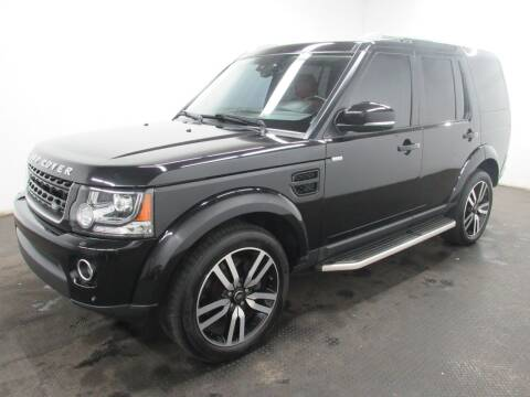 2016 Land Rover LR4 for sale at Automotive Connection in Fairfield OH