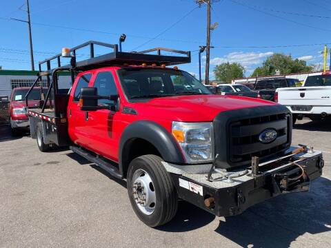 2014 Ford F-550 Super Duty for sale at New Wave Auto Brokers & Sales in Denver CO