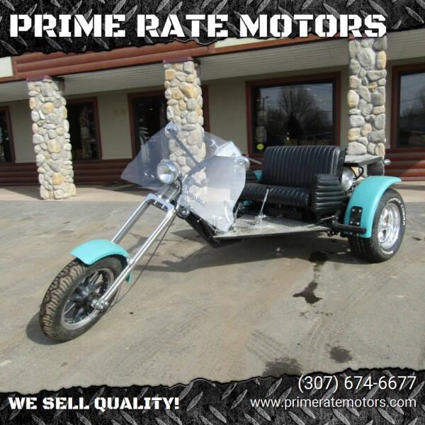 2019 Custom Homemade Trike for sale at PRIME RATE MOTORS in Sheridan WY