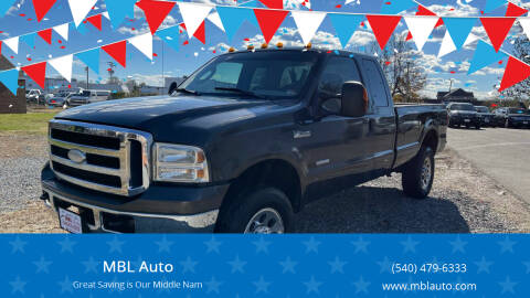 2007 Ford F-350 Super Duty for sale at MBL Auto Woodford in Woodford VA