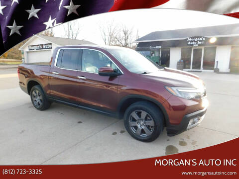 2019 Honda Ridgeline for sale at Morgan's Auto Inc in Paoli IN