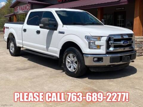 2015 Ford F-150 for sale at Affordable Auto Sales in Cambridge MN