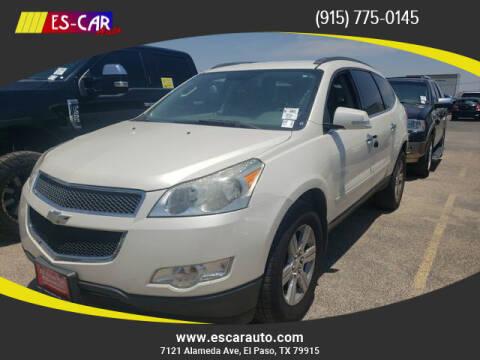 2011 Chevrolet Traverse for sale at Escar Auto in El Paso TX