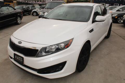 2011 Kia Optima for sale at FJ Auto Sales in North Hollywood CA
