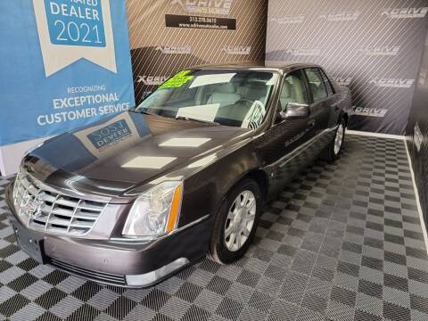 2008 Cadillac DTS for sale at X Drive Auto Sales Inc. in Dearborn Heights MI