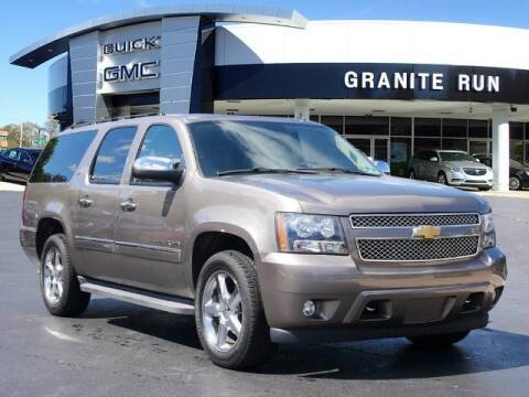 2012 Chevrolet Suburban for sale at GRANITE RUN PRE OWNED CAR AND TRUCK OUTLET in Media PA