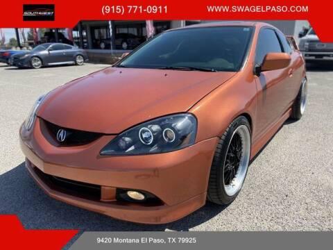 2006 Acura RSX for sale at SOUTHWEST AUTO GROUP-EL PASO in El Paso TX