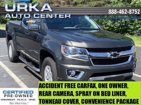2018 Chevrolet Colorado for sale at Urka Auto Center in Ludington MI