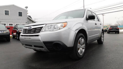 2009 Subaru Forester for sale at Action Automotive Service LLC in Hudson NY
