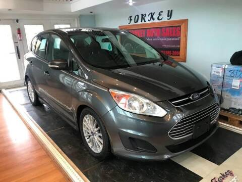 2015 Ford C-MAX Hybrid for sale at Forkey Auto & Trailer Sales in La Fargeville NY