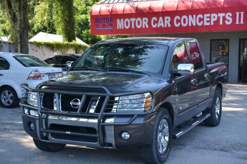 2007 Nissan Titan for sale at Motor Car Concepts II - Apopka Location in Apopka FL