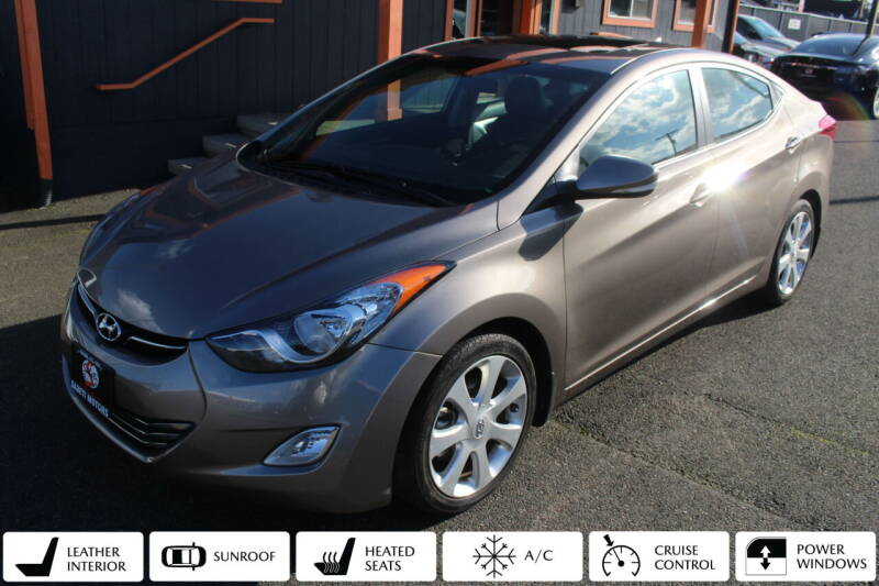 2013 Hyundai Elantra for sale at Sabeti Motors in Tacoma WA