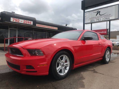 2014 Ford Mustang for sale at NORRIS AUTO SALES in Oklahoma City OK
