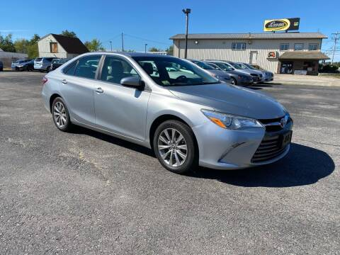 2015 Toyota Camry for sale at Riverside Auto Sales & Service in Portland ME