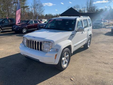 2010 Jeep Liberty for sale at Winner's Circle Auto Sales in Tilton NH