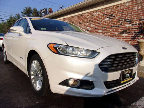 2014 Ford Fusion Hybrid for sale at Certified Motorcars LLC in Franklin NH