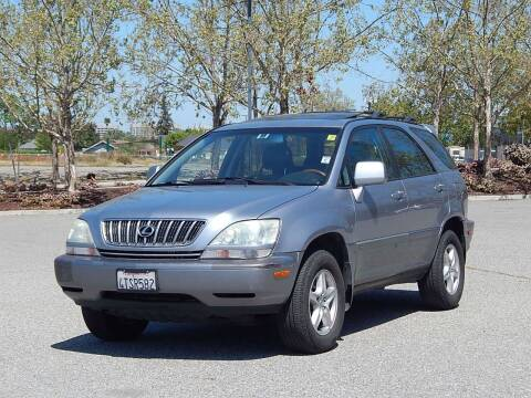 2001 Lexus RX 300 for sale at Crow`s Auto Sales in San Jose CA