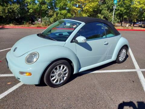 2004 Volkswagen New Beetle Convertible for sale at Cars & Trailers in Portland OR