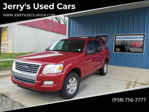 2010 Ford Explorer for sale at Jerry's Used Cars in Okmulgee OK