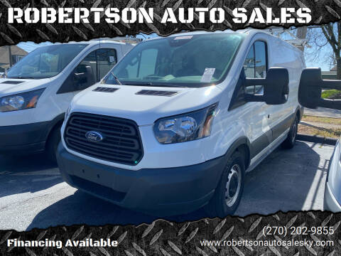 2017 Ford Transit Cargo for sale at ROBERTSON AUTO SALES in Bowling Green KY