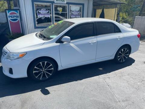 2013 Toyota Corolla for sale at 3 BOYS CLASSIC TOWING and Auto Sales in Grants Pass OR