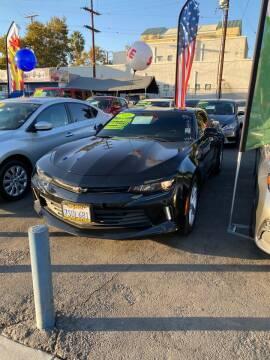 2016 Chevrolet Camaro for sale at 2955 FIRESTONE BLVD - 3271 E. Firestone Blvd Lot in South Gate CA