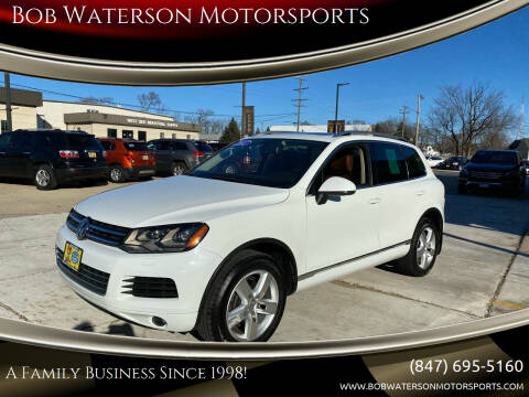 2012 Volkswagen Touareg for sale at Bob Waterson Motorsports in South Elgin IL